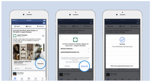 Reklamowa kontaktowa Facebook Lead Ads