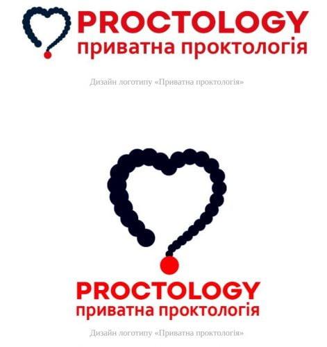 логотип проктологія